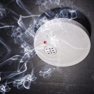 גילוי אש ועשן